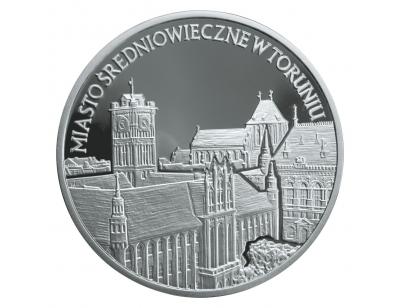 20 zł – Miasto średniowieczne w Toruniu