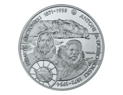 10 zł – Henryk Arctowski i Antoni B. Dobrowolski