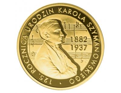 200 zł – 125. rocznica urodzin Karola Szymanowskiego (1882-1937)