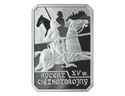 10 zł – Rycerz ciężkozbrojny XV w.
