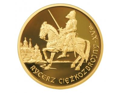 200 zł – Rycerz ciężkozbrojny XV w.