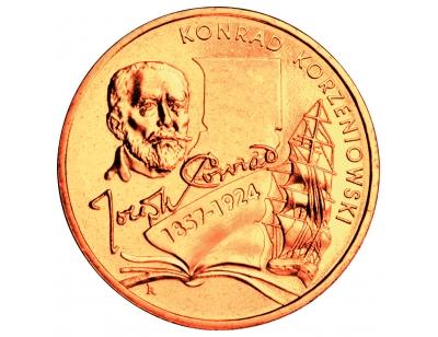 2 zł – Konrad Korzeniowski/Joseph Conrad (1857-1924)