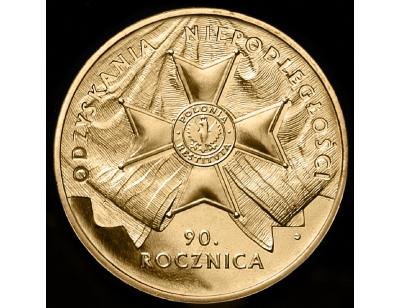 2 zł – 90. rocznica odzyskania niepodległości