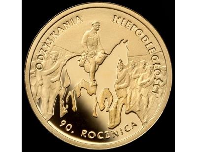 50 zł – 90. rocznica odzyskania niepodległości