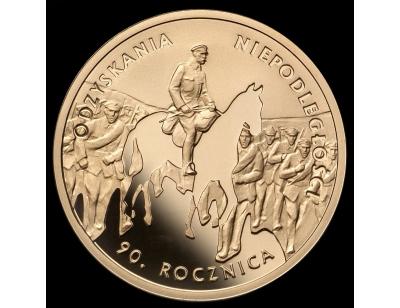 200 zł – 90. rocznica odzyskania niepodległości