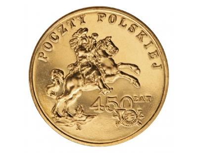 2 zł – 450 lat Poczty Polskiej