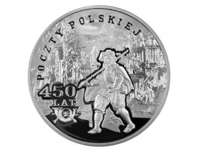 10 zł – 450 lat Poczty Polskiej