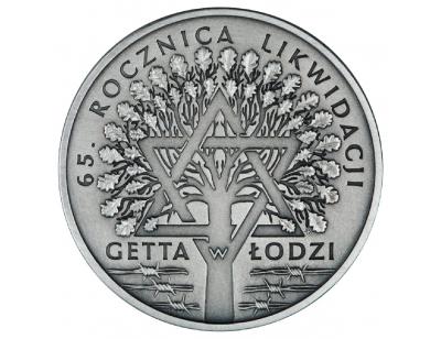 20 zł – 65. rocznica likwidacji getta w Łodzi