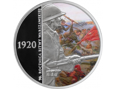 20 zł – 90. rocznica Bitwy Warszawskiej