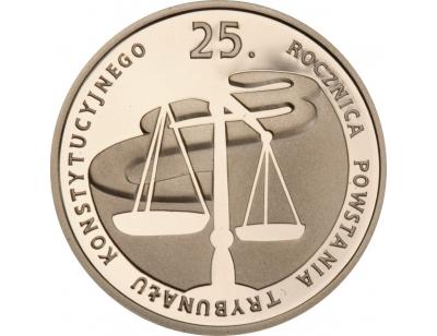 100 zł – 25. rocznica powstania Trybunału Konstytucyjnego