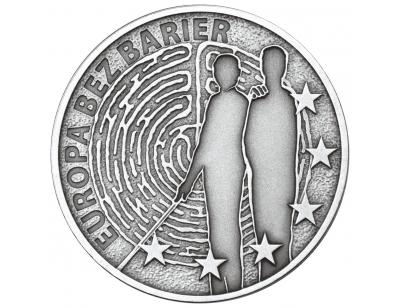 10 zł – Europa bez barier – 100-lecie Towarzystwa Opieki nad Ociemniałymi
