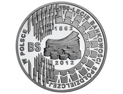 10 zł – 150-lecie bankowości spółdzielczej w Polsce