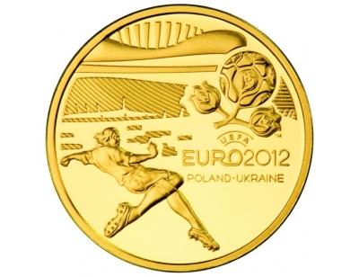 100 zł – Mistrzostwa Europy w Piłce Nożnej UEFA 2010-12