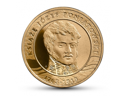 2 zł – 200. rocznica śmierci księcia Józefa Poniatowskiego