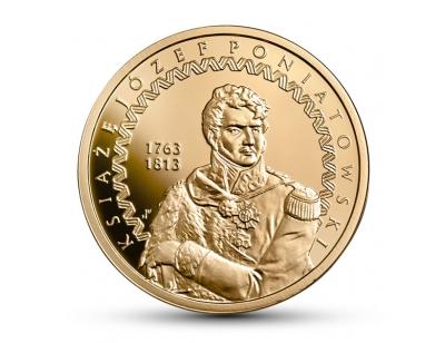 200 zł – 200. rocznica śmierci księcia Józefa Poniatowskiego