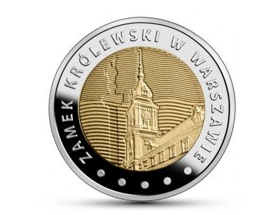 5 zł – Zamek Królewski w Warszawie