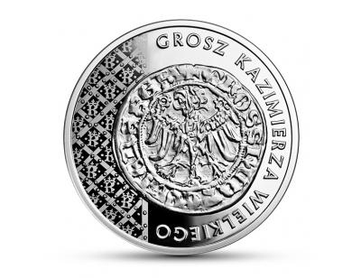 20 zł – Grosz Kazimierza Wielkiego