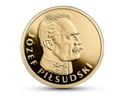 100 zł – Stulecie odzyskania przez Polskę niepodległości – Józef Piłsudski