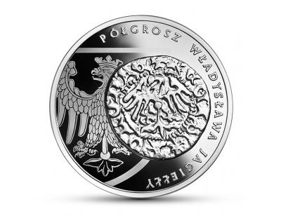 20 zł – Półgrosz Władysława Jagiełły