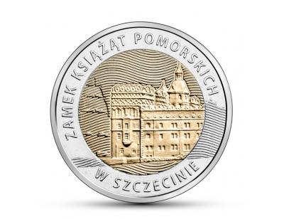 5 zł – Zamek Książąt Pomorskich w Szczecinie