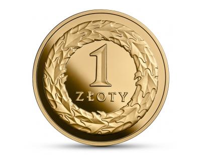 1 zł - 100.rocznica odzyskania przez Polskę niepodległości