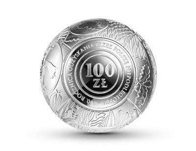 100 zł - 100.rocznica odzyskania przez Polskę niepodległości