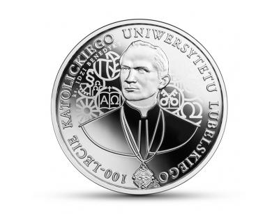 10 zł - 100-lecie Katolickiego Uniwersytetu Lubelskiego
