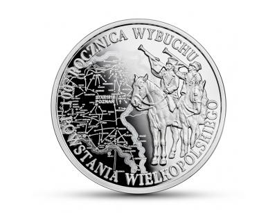 10 zł - 100. rocznica wybuchu Powstania Wielkopolskiego