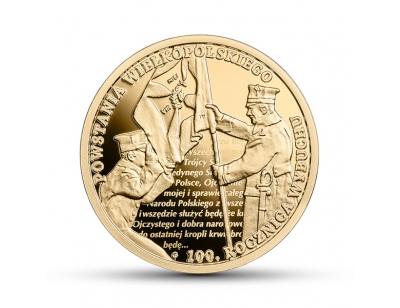 200 zł - 100. rocznica wybuchu Powstania Wielkopolskiego