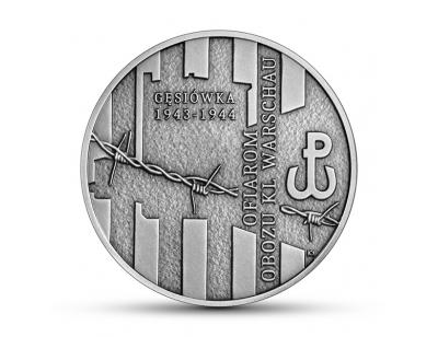 10 zl - Ofiarom obozu KL Warschau