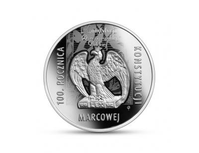 10 zł - 100. rocznica Konstytucji marcowej