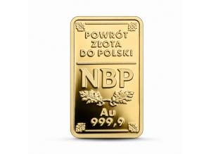 100 zł - powrót złota do Polski