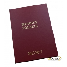 Klaser rocznikowy Fischer na monety obiegowe 2013 - 2017 r.