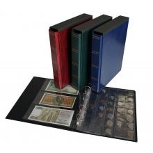 Album 2w1 na monety i banknoty z futerałem